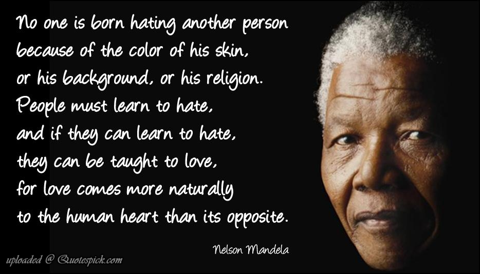 Quote Of The Week Nelson Mandela Melissa Janda A Time To Write