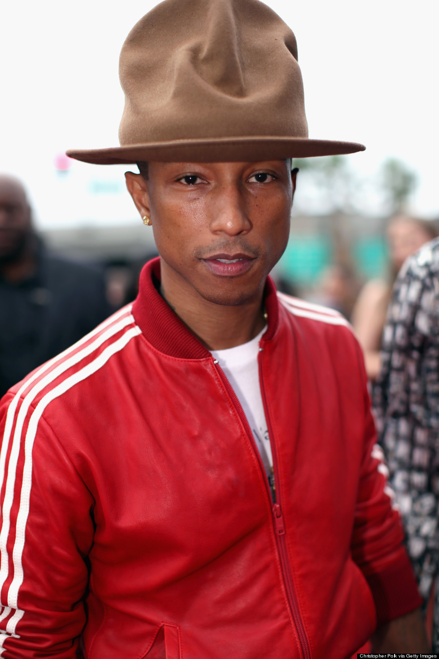 "Pharrell Hat Designer With ""the Hat,"" Pharrell"